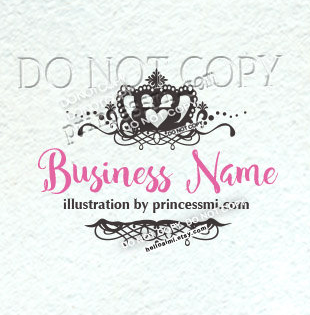 Vintage business logo vintage style crown girl business logo vintage business logo vintage style crown girl business logo template adorable logo photography logo business logo boutique logo watermark flashek Images