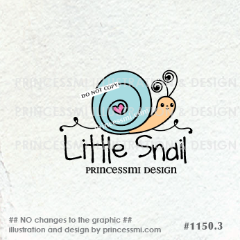1150 3 Snail Logo Snail Love Dream Logo House Homemade Hand