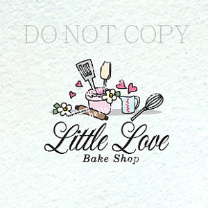 Home Kitchen Logo 1475-2 bakery logo design, mixer , dessert logo design, home
